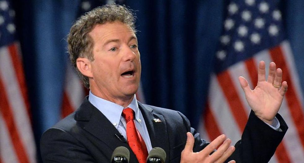 Rand Paul demonstrates the legal acumen of an 8-year-old