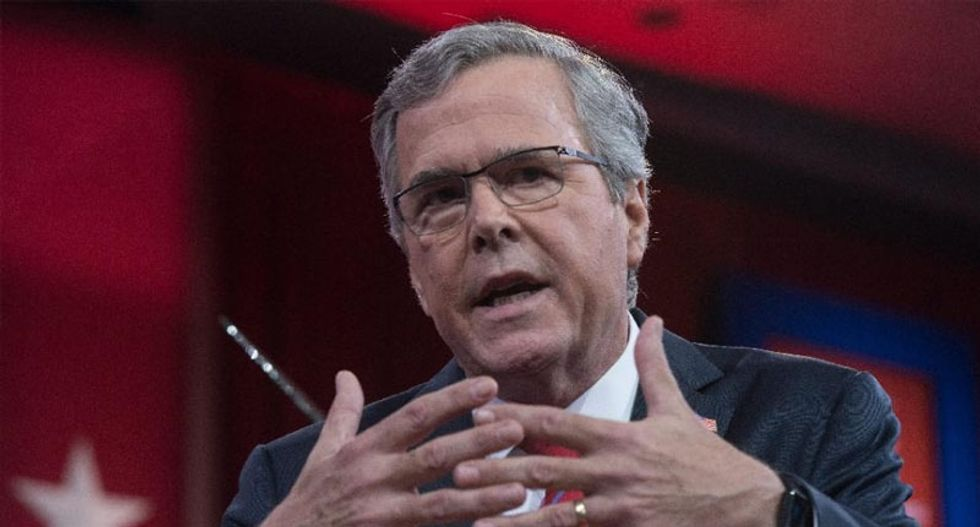 Jeb Bush in Berlin: Remember my dad's role in the Cold War, not my brother's in Iraq