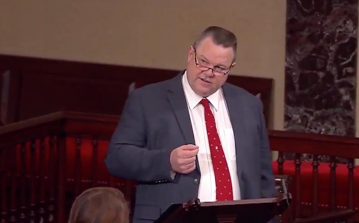 Montana Senator attacks colleagues as 'gutter alcoholics' for perpetuating Trump's lies