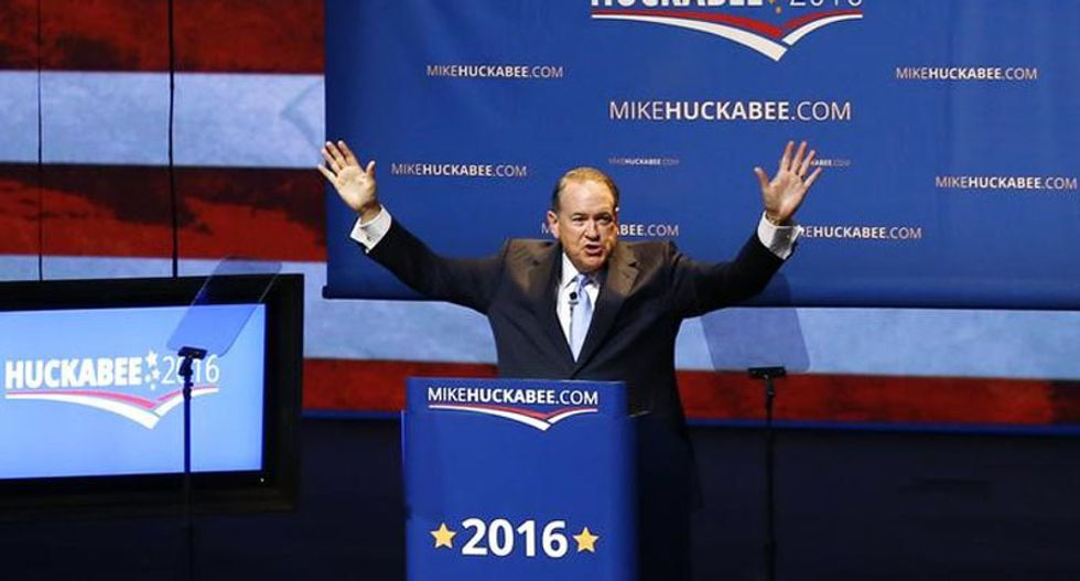 Mike Huckabee becomes latest Republican to skip Iowa straw poll