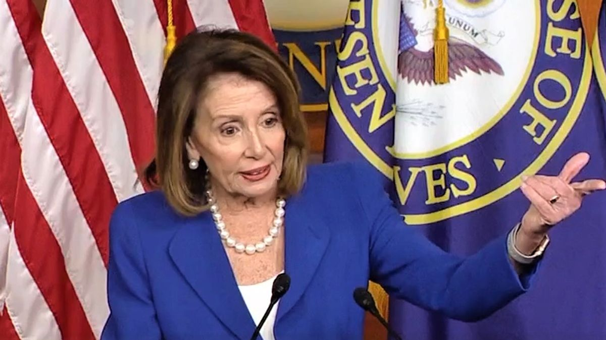 'Vote no and take the dough:' Pelosi trashes Republicans for voting against Biden's COVID-19 relief package