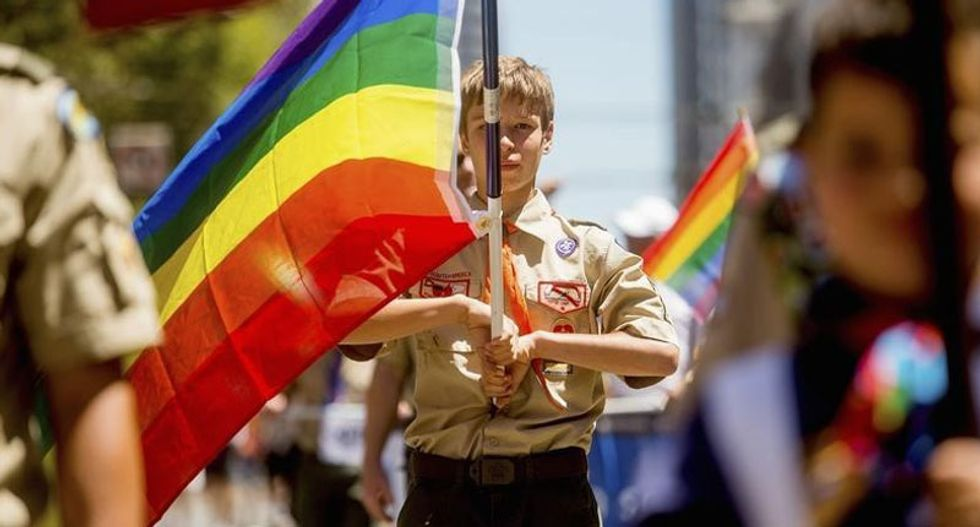 Boy Scouts president says ban on gay leaders 'cannot be sustained'