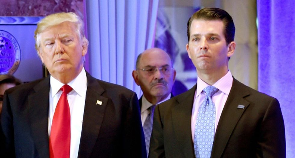 REVEALED: US taxpayers paid Trump hotel thousands to fund Don Jr's Canadian hunting trip