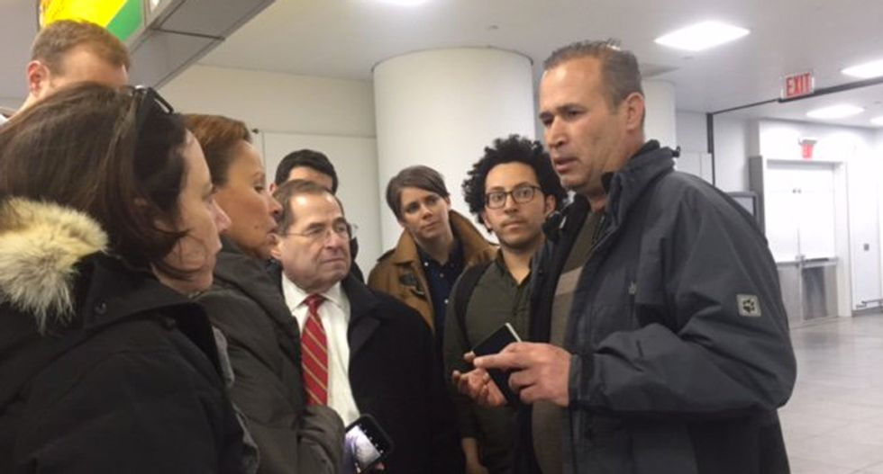 Iraqi man held at JFK was US military interpreter who was coming here because son needs liver treatment