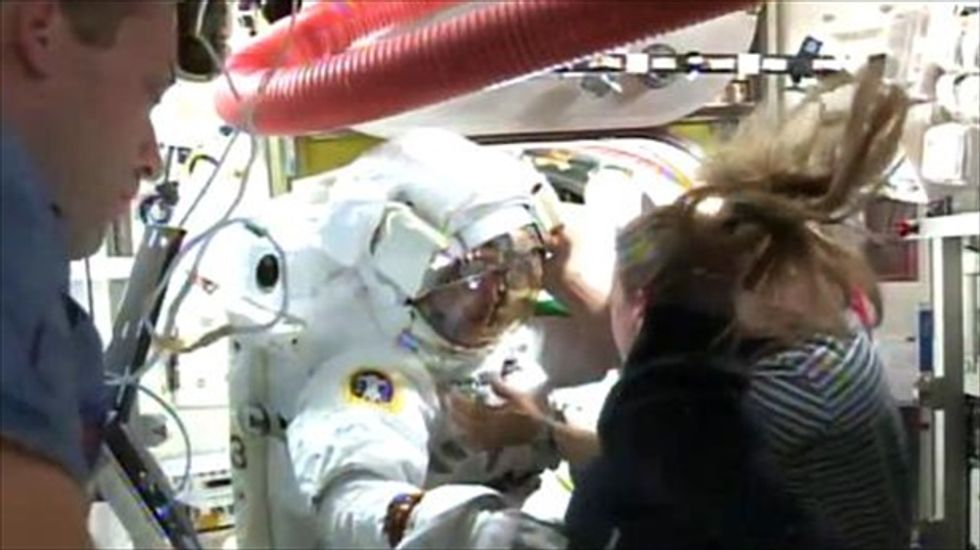 NASA admits to misidentifying space suit leak that almost killed Italian astronaut