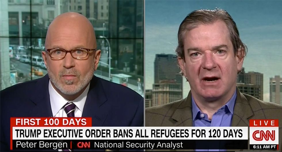Security analyst shreds Trump's fear-mongering of immigrants: Attacks in US are 'overwhelming by Americans'