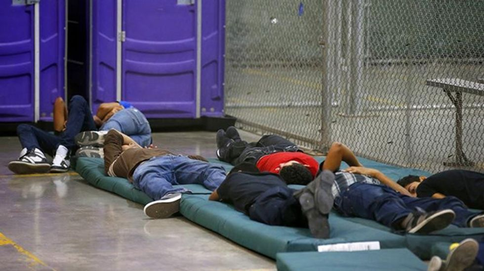 US urges judge to toss lawsuit over immigrant children detention