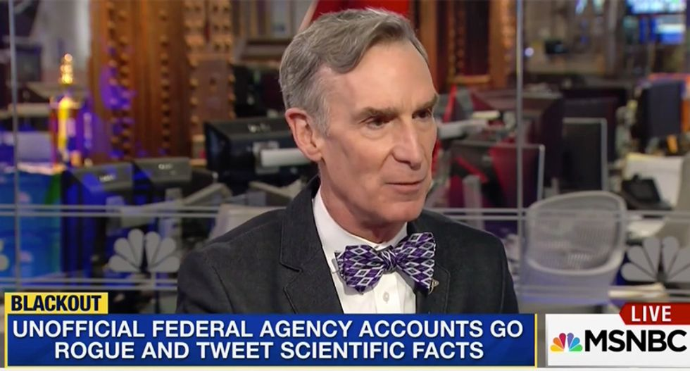 Bill Nye compares Trump to people who believe in astrology: They're so invested in belief they ignore facts