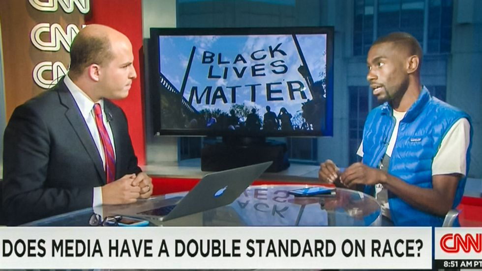 Watch this activist politely destroy CNN for racism: 'Whiteness gets nuance and blackness doesn't'