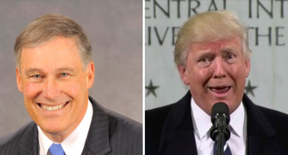 Trump team 'couldn't run a two-car funeral': WA governor blasts 'train wreck' immigration mess