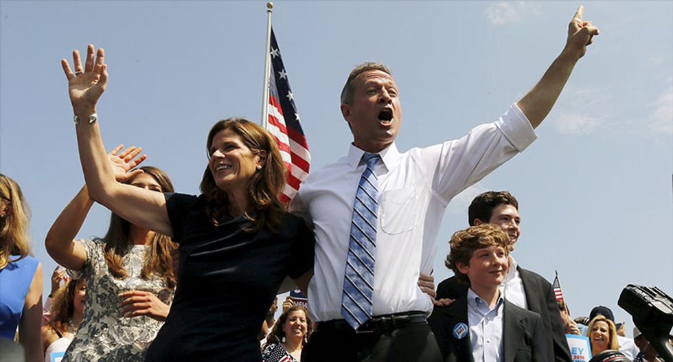 With tough words for Wall St, O'Malley launches White House bid
