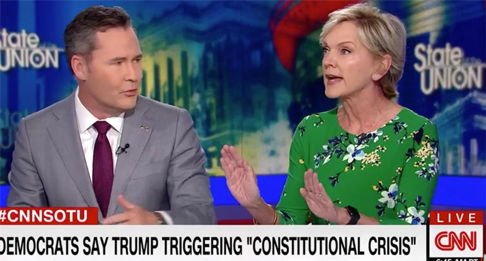 Jennifer Granholm blows up on Florida Republican for protecting 'lawless' Trump in CNN shoutfest