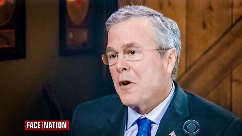 Jeb Bush: I learned about 'protecting the homeland' from the way George W. Bush 'kept us safe'