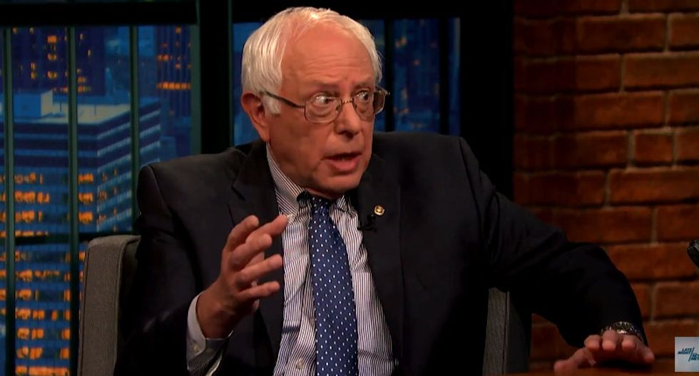 Bernie Sanders: 'I'm not a great fan' of Benjamin Netanyahu