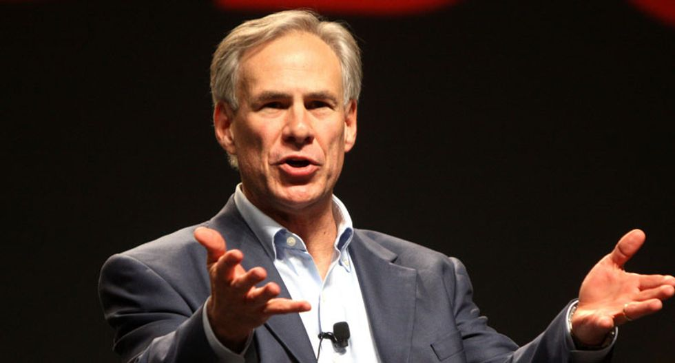 Texas governor says he supports Christian crosses on police cars