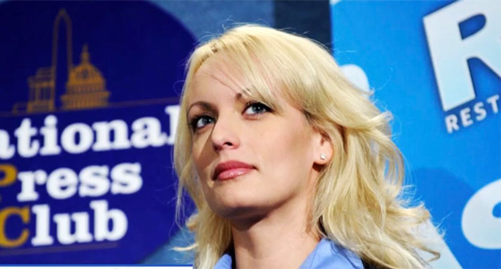 Texas notary who handled Stormy Daniels' hush-money agreement suspended for 'botching' it: report