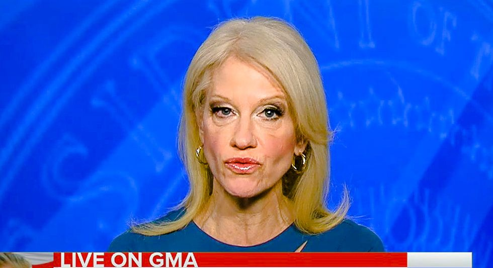Kellyanne Conway: Trump's 'extraordinary accomplishments' in first week 'truly are breathtaking'