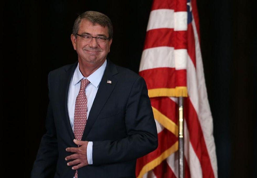 Pentagon chief Ashton Carter arrives in Europe amid Afghan airstrike crisis