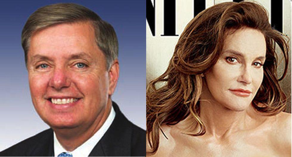 Lindsey Graham thinks Caitlyn Jenner should vote for him although 'I haven't walked in her shoes'