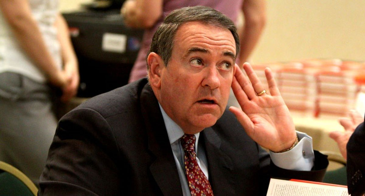 Mike Huckabee floats conspiracy theory about Trump -- and ends up looking ridiculous