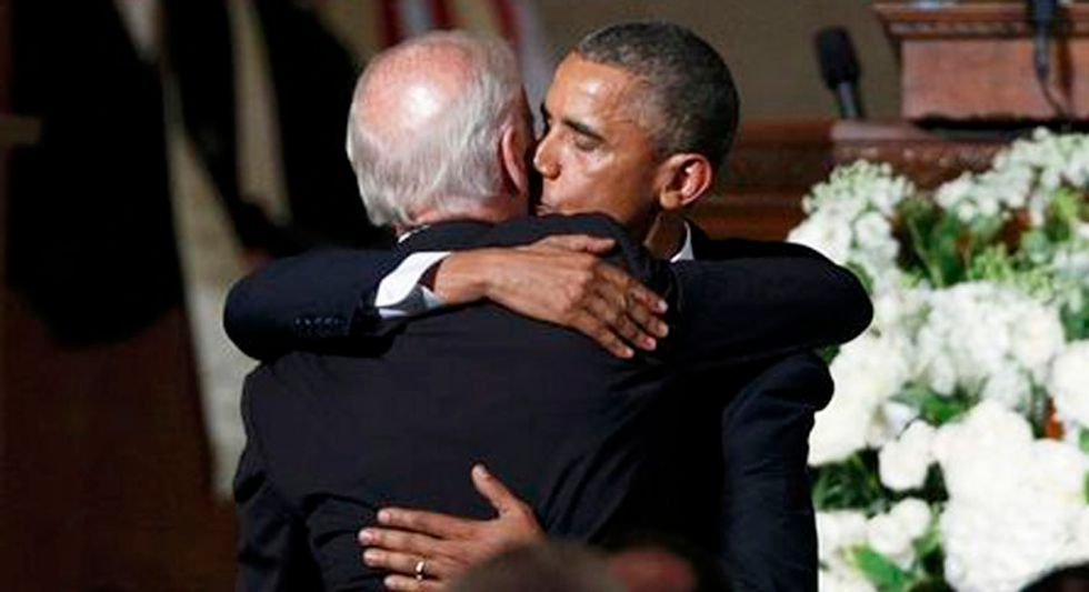 Obama offered to help Biden financially while dealing with son's battle with cancer