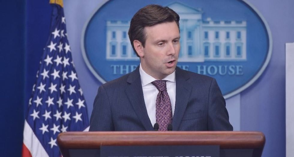 White House press room evacuated during briefing