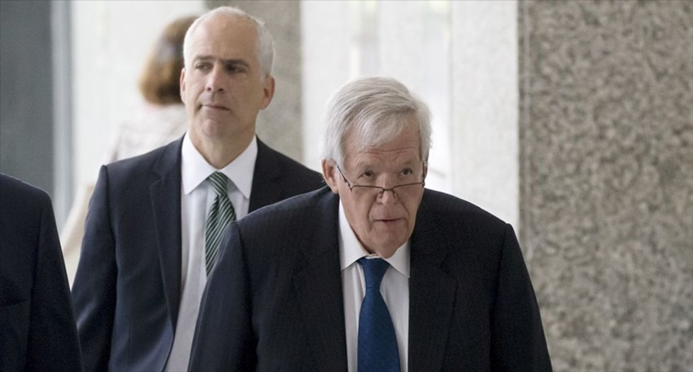 Ex-House Speaker Dennis Hastert pleads not guilty to federal charges
