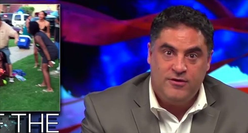 Cenk Uygur hammers 'unbelievable hypocrite' Hannity and conservatives for backing ex-McKinney cop
