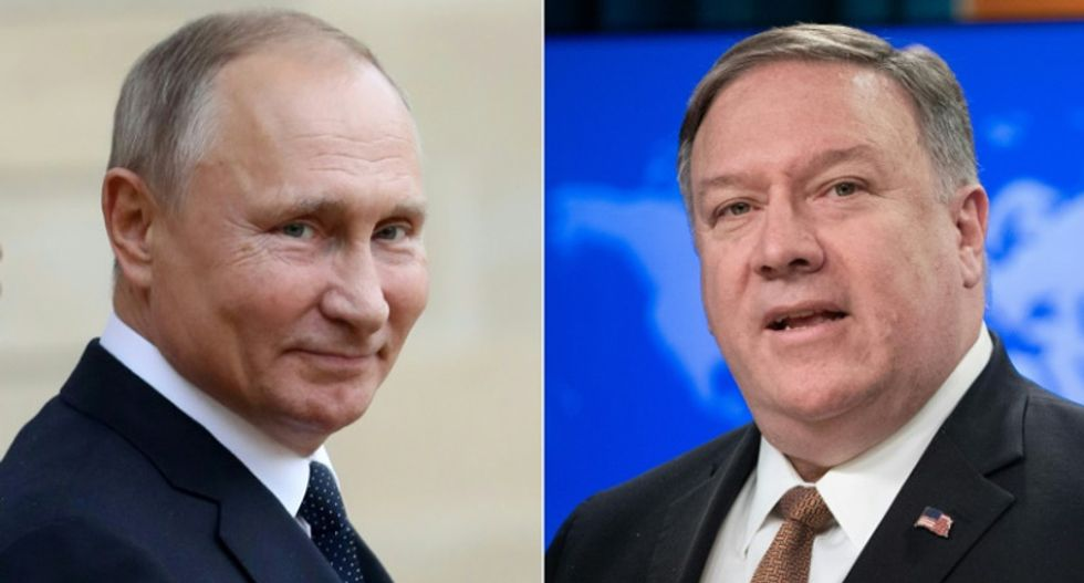 Pompeo tells Russia not to meddle in next US election