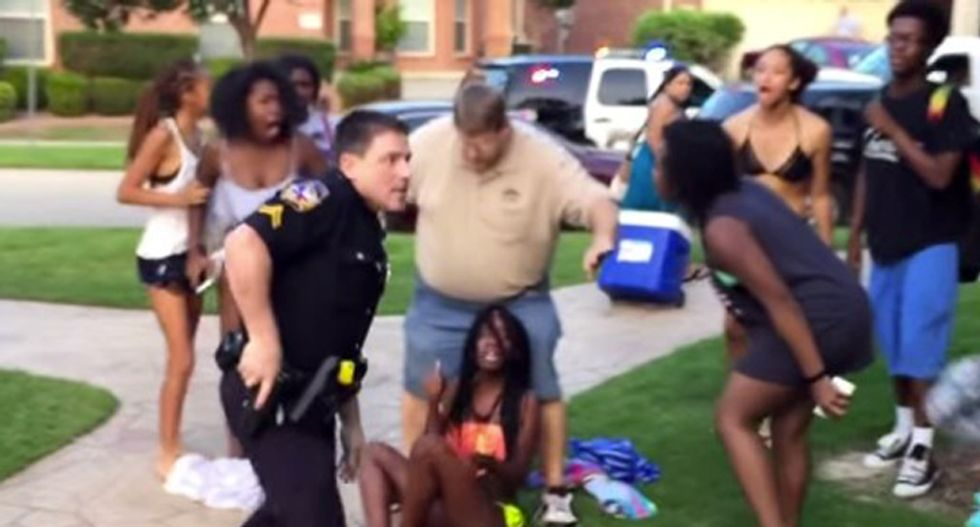 Texas teacher says McKinney case 'almost' enough to wish for segregation -- but she's 'not racist'