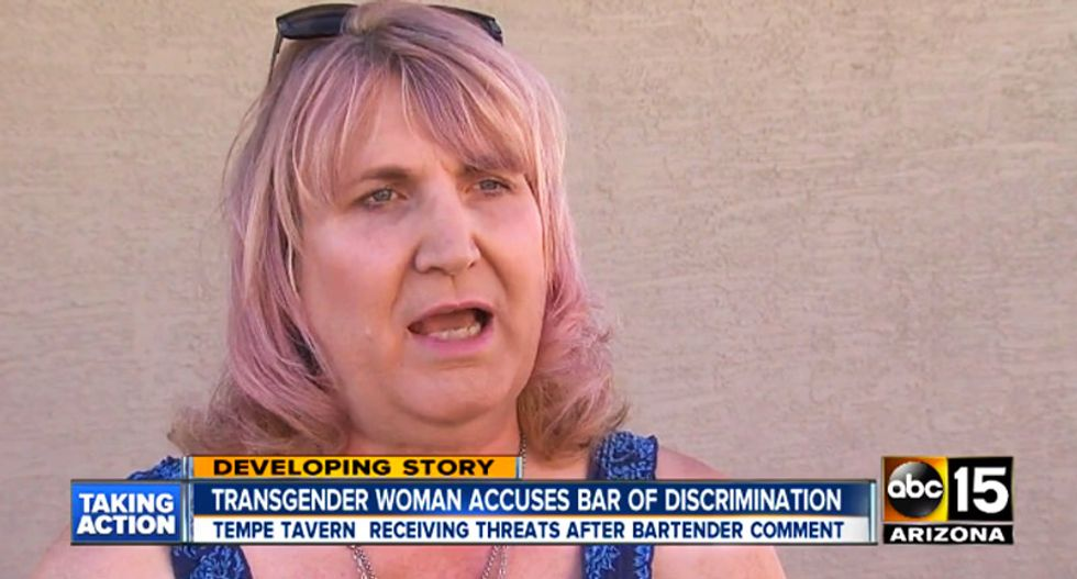 'We don't serve your kind here': Arizona bar admits kicking out transgender woman