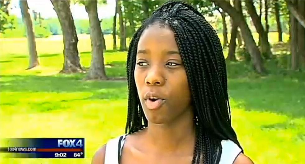 McKinney teen describes the moment maniac cop pulled her to the ground by her braids