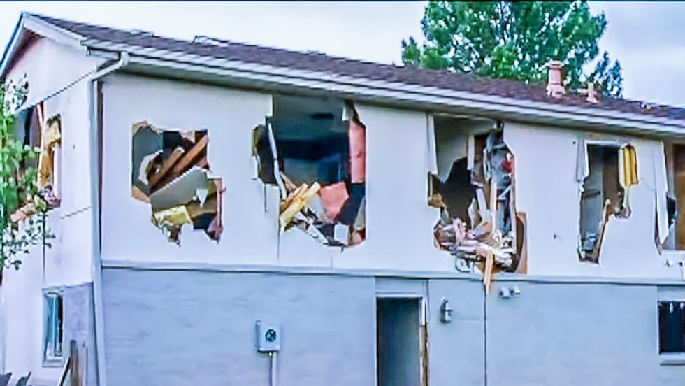 'Paramilitary thugs': Colorado man livid after SWAT blows up his entire home in pursuit of shoplifter