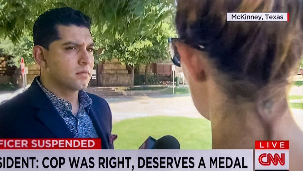 White McKinney resident: Cop 'deserves a medal' for pulling gun on black kids at pool party