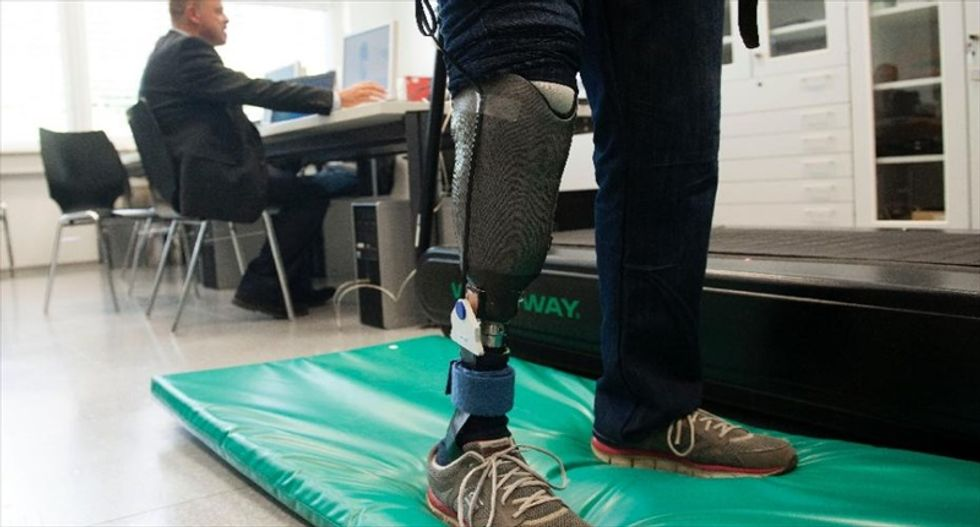 New 'feeling' prosthetic leg offers amputees a greater chance of fending off 'phantom pain'