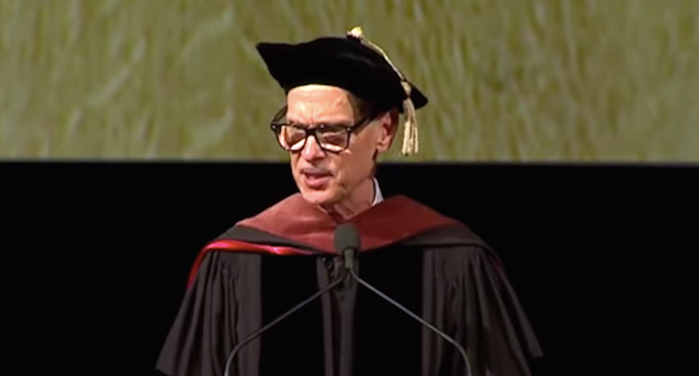 John Waters offers wise and raunchy advice to grads: 'Go out in the world and f*ck it up beautifully'