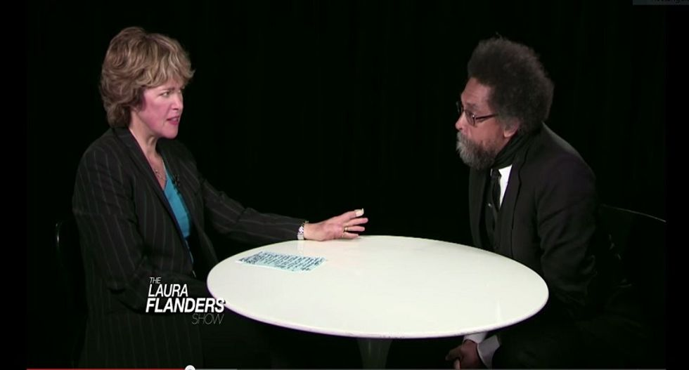 Cornel West: 'Black faces in high places' not enough to fix America's racist law enforcement