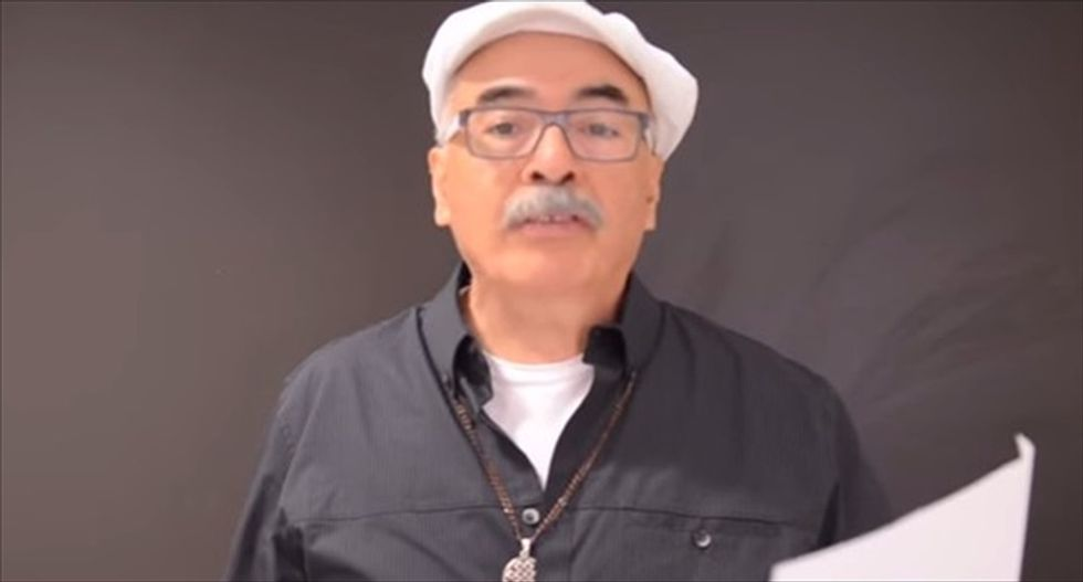 Juan Felipe Herrera becomes first Latino to be named US poet laureate by Library of Congress