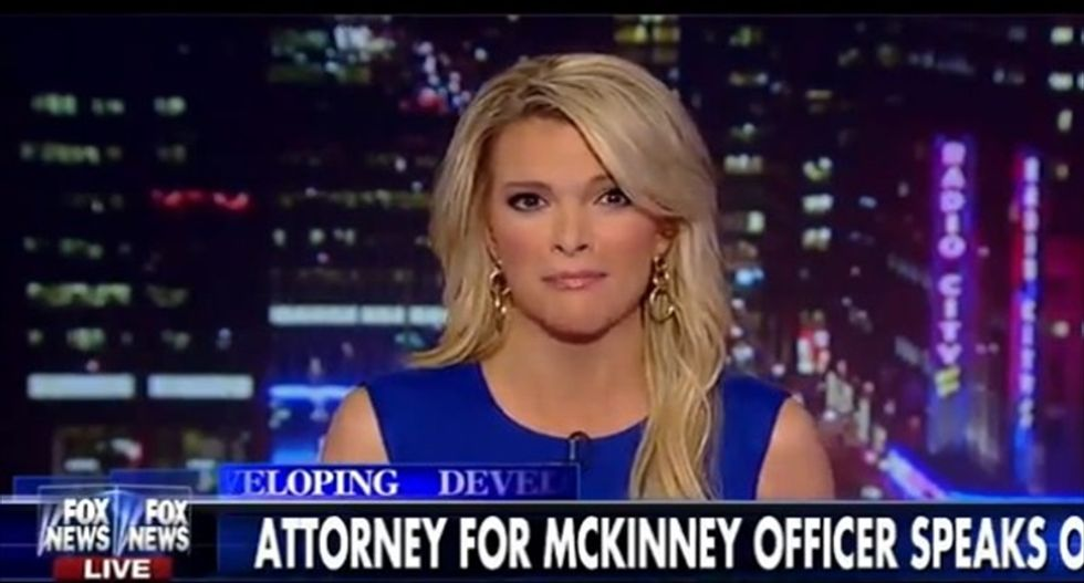 Fox News' Megyn Kelly complains about 'liberal' media directly quoting her remarks about McKinney teen