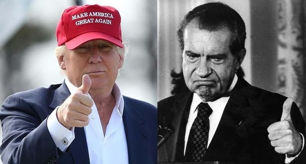 A historian explains the stunning parallels between Trump's present-day scandals and Watergate
