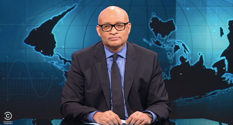 Larry Wilmore rips Fox for blaming victims of cop violence: Maybe blacks should literally become saints