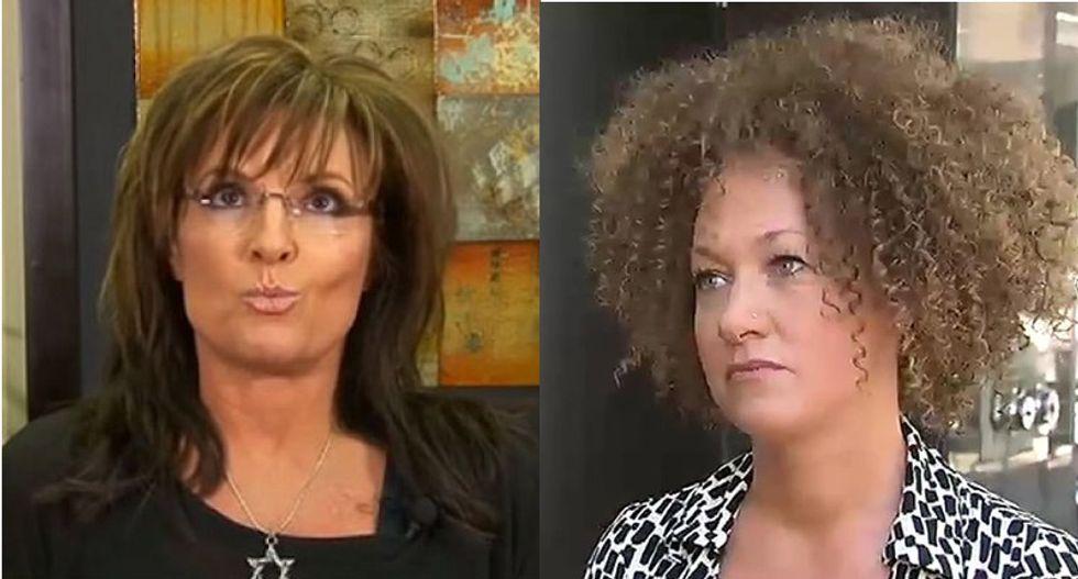 Sarah Palin rambles about Rachel Dolezal, 'political correctness' in loopy Facebook post