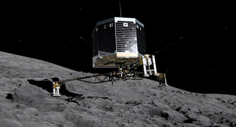 Space probe Philae begins 'speaking' with Earth 7 months after believed lost