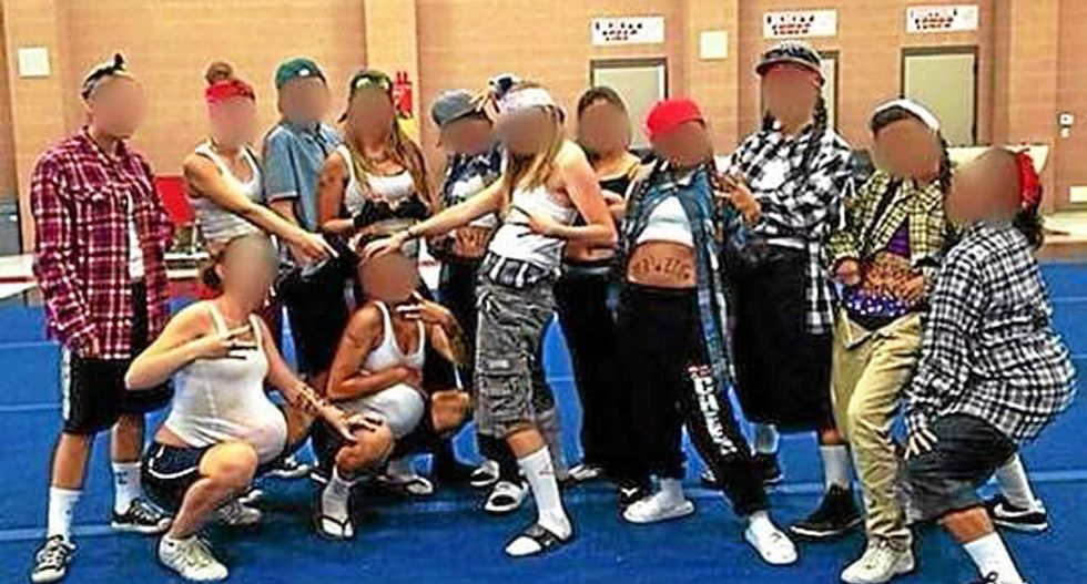 CA principal praises 'courage' of cheerleaders after they posed as Hispanic 'gangstas' on Spirit Day