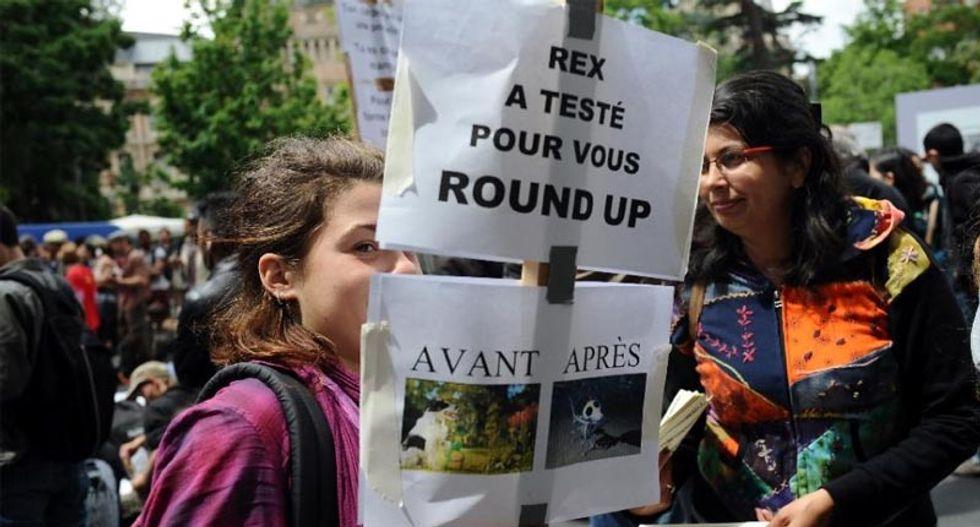 France bans sale of Monsanto herbicide Roundup in nurseries