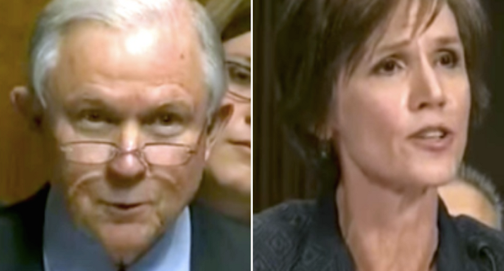 White House goes ballistic over Sally Yates rumors: We 'would not stop her' from testifying