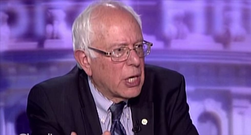 Bernie Sanders says his tax plan would hit the rich for 'more than 50 percent'