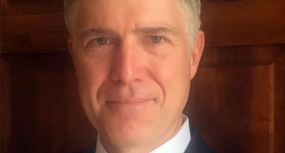 Judge Neil Gorsuch told he is likely Trump's Supreme Court pick: CNN