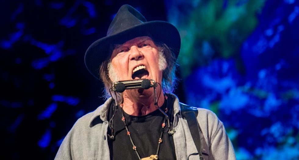 On Neil Young's new 'Colorado' album, amped up rage -- and hope