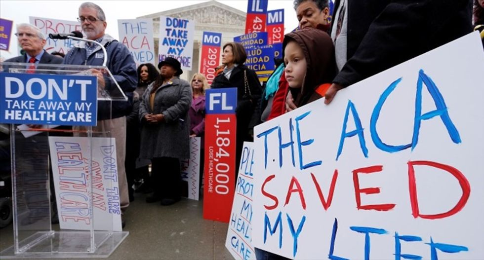 Republican lawmakers discuss extending Obamacare subsidies in case of Supreme Court defeat